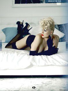 Секси Ирина Воронина в белье для журнала Kandy фото #6