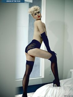 Секси Ирина Воронина в белье для журнала Kandy фото #7