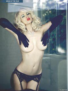 Секси Ирина Воронина в белье для журнала Kandy фото #9