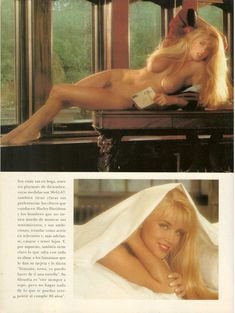 Дженни Маккарти обнажилась в журнале Playboy фото #4