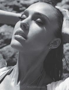 Утонченная Джессика Альба  в журнале Maxim фото #5