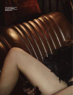 Обнажённая грудь Мари Жиллен появилась в журнале Lui фото #4