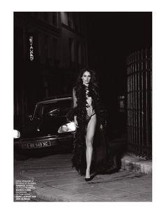 Обнажённая грудь Мари Жиллен появилась в журнале Lui фото #6