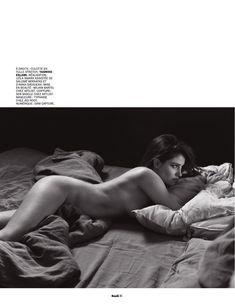 Обнажённая грудь Мари Жиллен появилась в журнале Lui фото #13