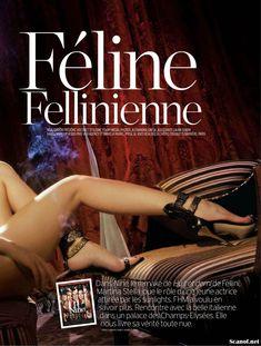 Эротичная Мартина Стелла на фото в журнале FHM фото #3