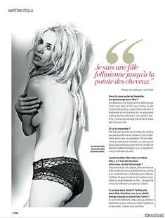 Эротичная Мартина Стелла на фото в журнале FHM фото #4