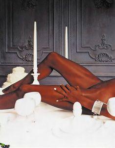 Наоми Кэмпбелл разделась для журнала Playboy фото #2