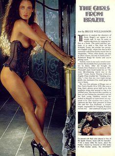 Абсолютно голая Соня Брага засветилась в журнале Playboy фото #1