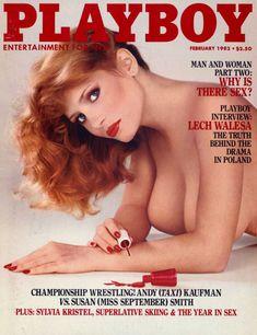 Красотка Сильвия Кристель позирует с голой грудью в журнале Playboy фото #1