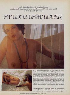 Красотка Сильвия Кристель позирует с голой грудью в журнале Playboy фото #2