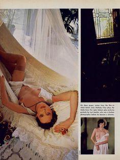 Красотка Сильвия Кристель позирует с голой грудью в журнале Playboy фото #3