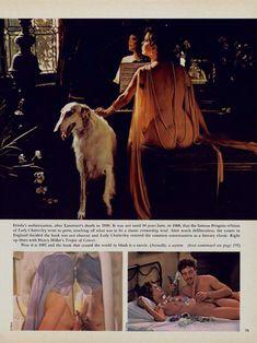Красотка Сильвия Кристель позирует с голой грудью в журнале Playboy фото #4