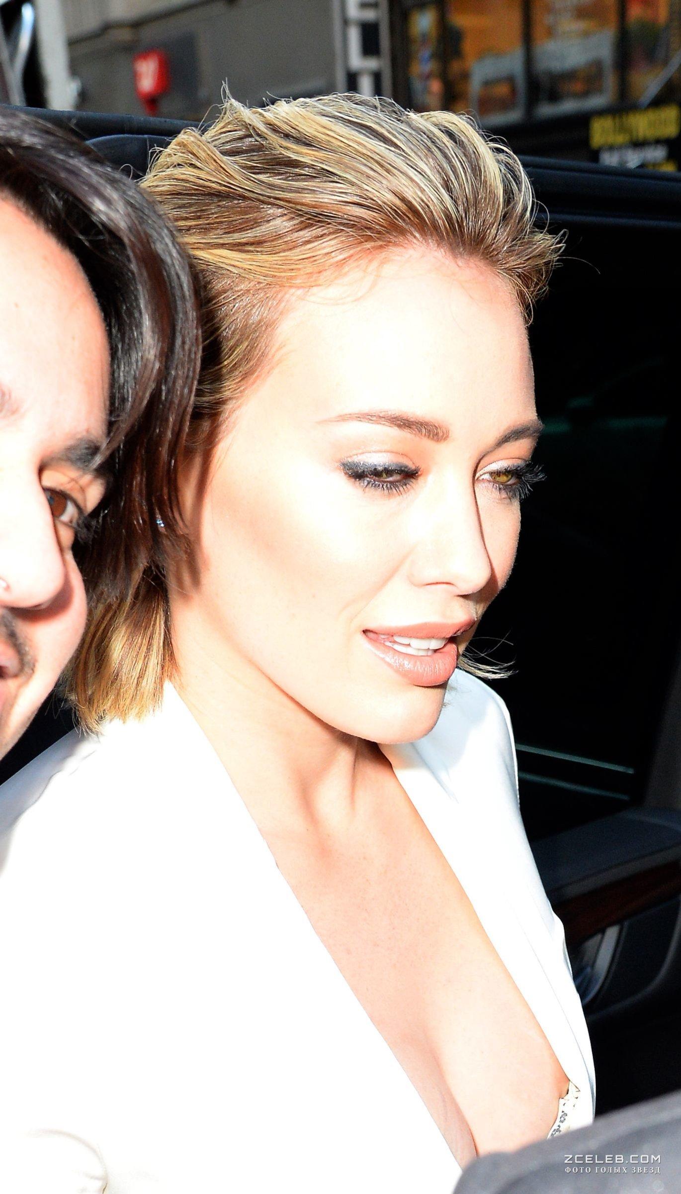 Hilary Duff Nip Slip