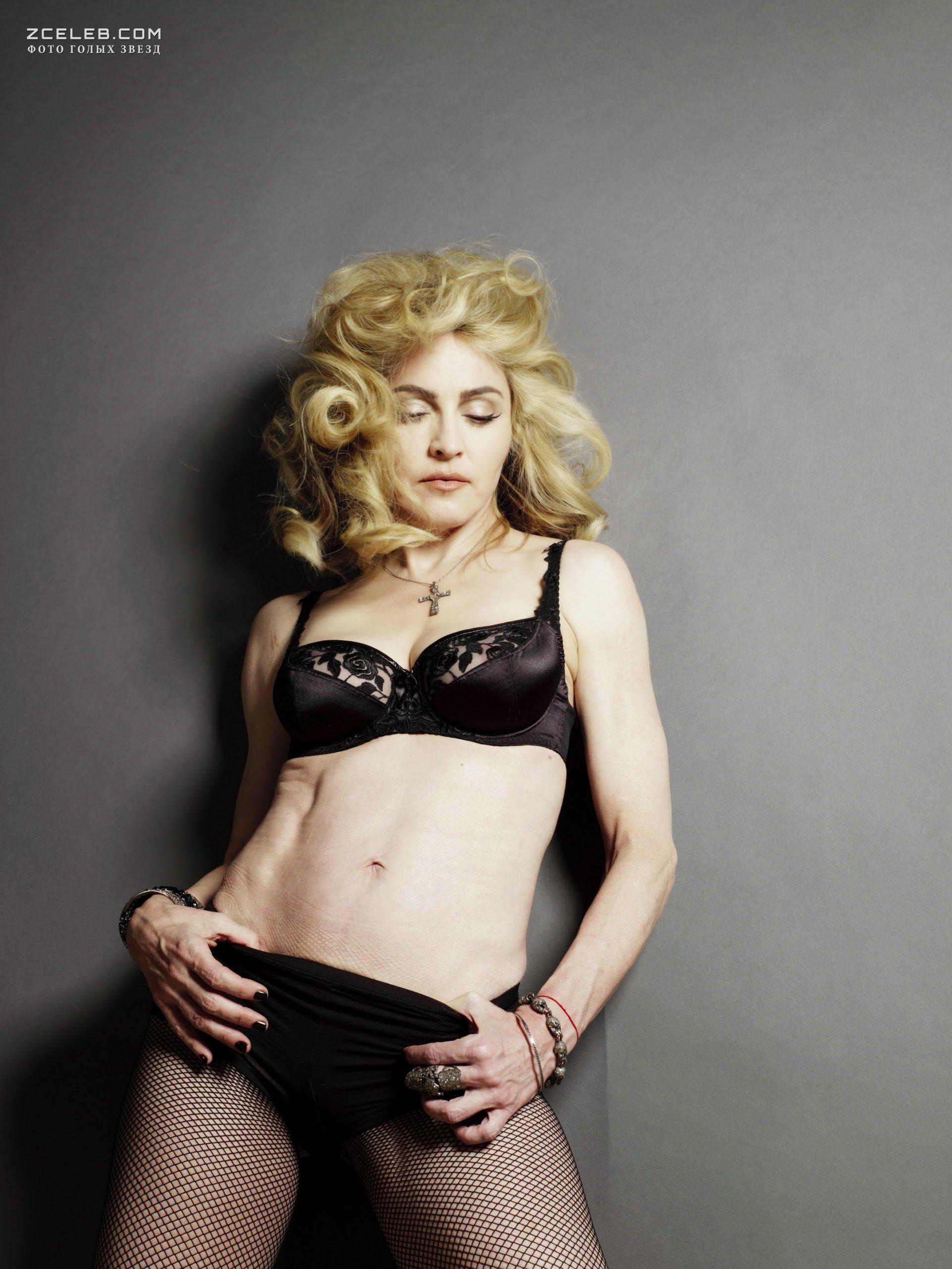 Голая Грудь Мадонны В Журнале L'Uomo Vogue