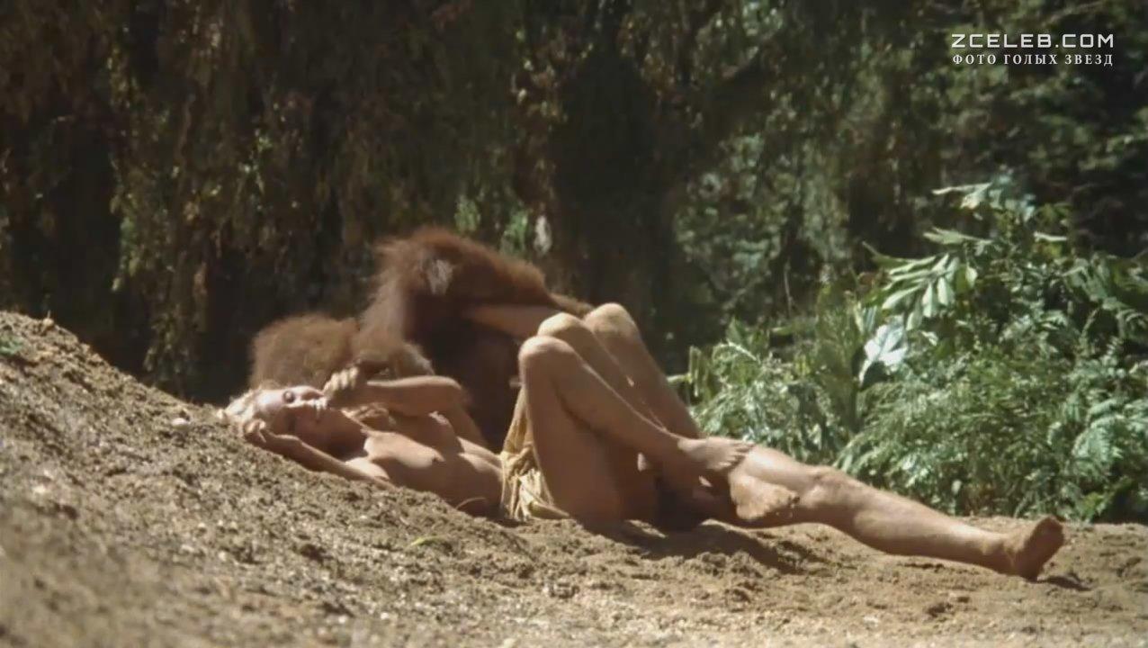 Женская грудь порно фильм про тарзан