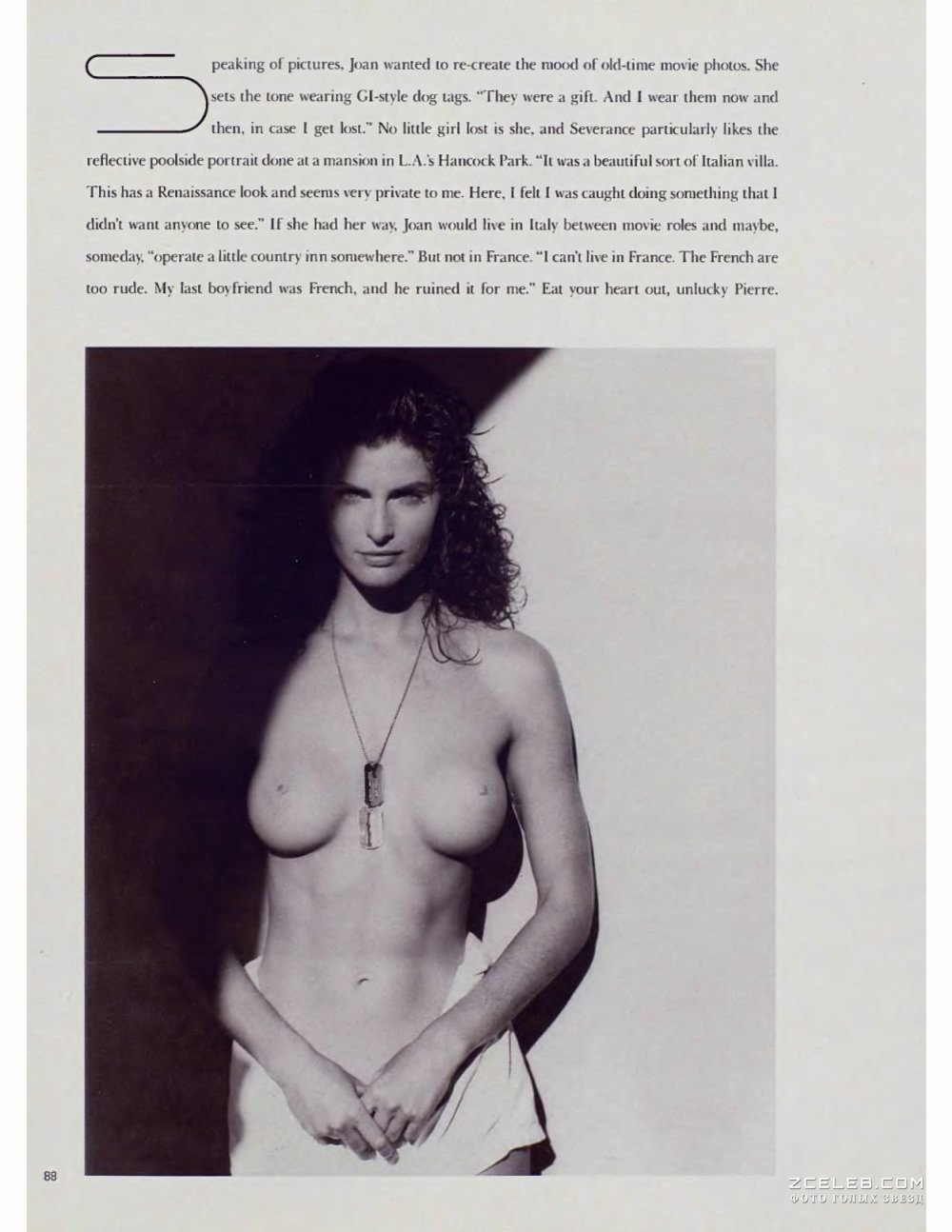 Joan Severance Boobs