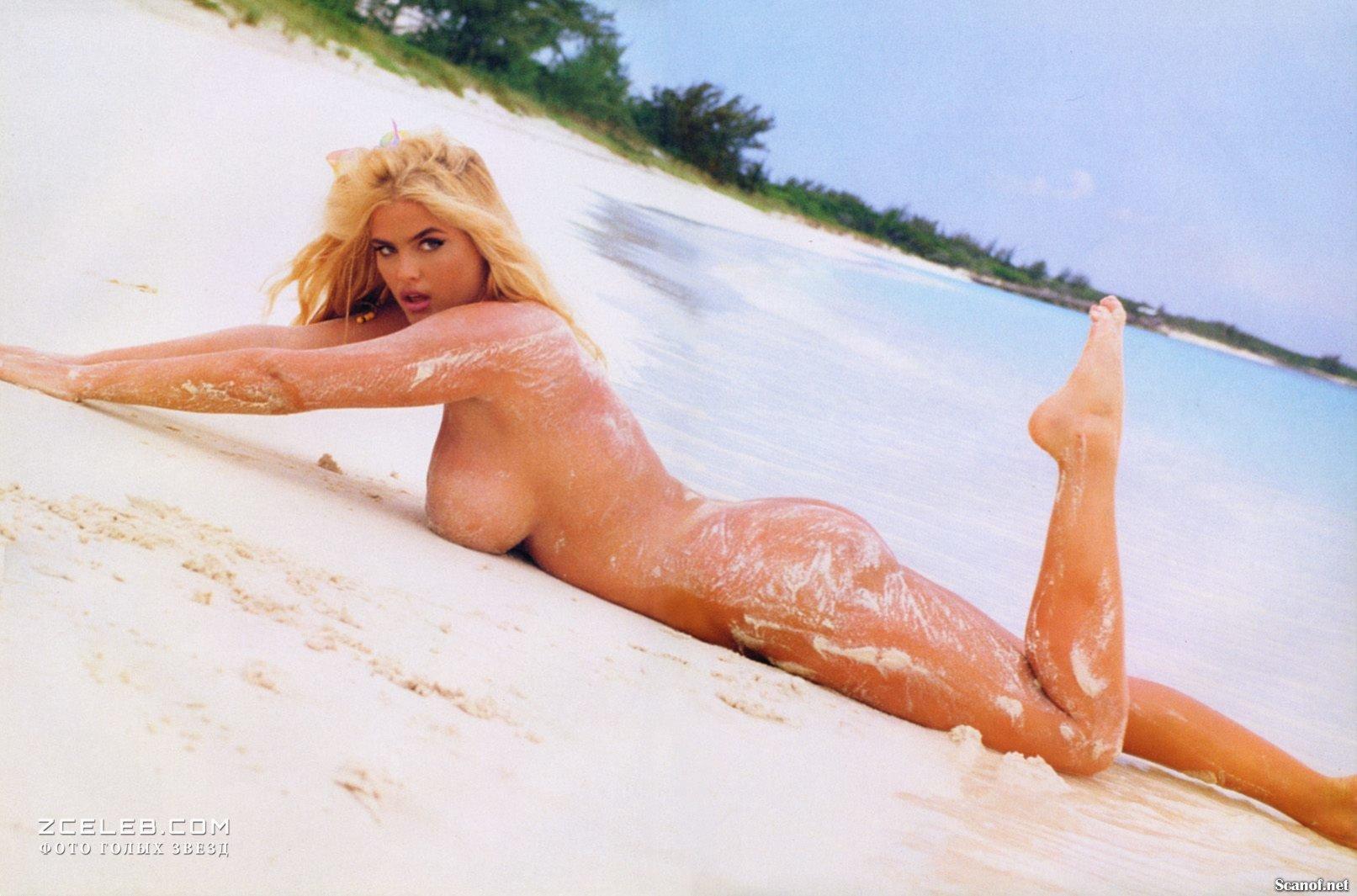 Anna nicole smith signed playboy photo nude rare full signature