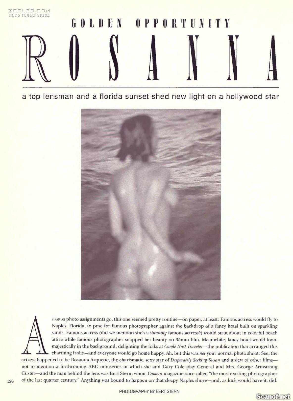 Rosanne Arquette Nude