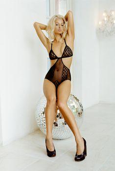 Сексуальная Пэрис Хилтон в белье для журнала Blender, Сентябрь 2006