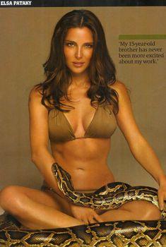 Привлекательная Эльза Патаки в журнале Maxim, Август 2006