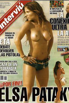 Голая грудь Эльза Патаки в журнале Interviu, Март 2007