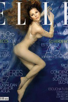 Эльза Патаки разделась для журнала Elle, Июль 2008
