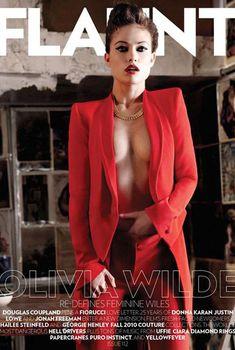 Заманчивая Оливия Уайлд в журнале Flaunt, Декабрь 2010