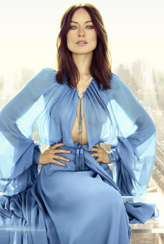 Привлекательная Оливия Уайлд в журнале Marie Claire, Апрель 2013