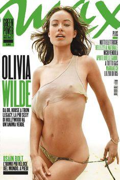Сексапильная Оливия Уайлд в журнале Max, Январь 2011