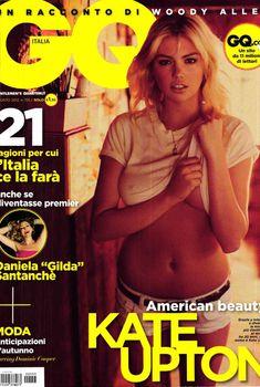 Соблазнительная Кейт Аптон в журнале GQ, Август 2012