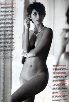 Обнаженная Морена Баккарин в журнале Allure, Май 2012
