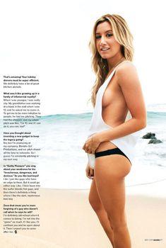 Эшли Тисдейл в эро фотосессии для журнала Maxim, Сентябрь 2013