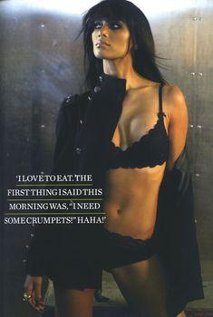 Страстная Николь Шерзингер в журнале FHM, Март 2009