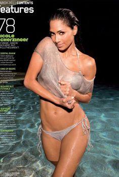 Николь Шерзингер разделась для журнала Maxim, Март 2011