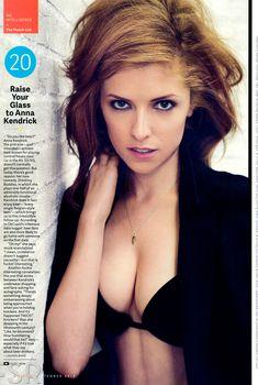 Секси Анна Кендрик для журнала GQ, Сентябрь 2013