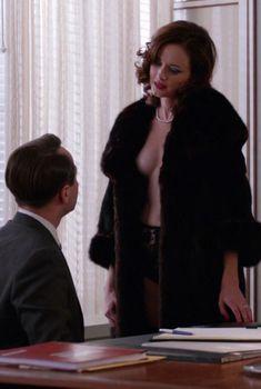 Сексуальная Алексис Бледел в сериале «Безумцы»