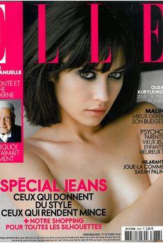 Заманчивая красотка Ольга Куриленко в журнале Elle, Франция, Октябрь 2008, Октябрь 2008