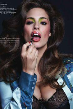 Сексуальные Кэролин Мёрфи и Эшли Грэм снялись в Harpers Bazaar, Май 2014