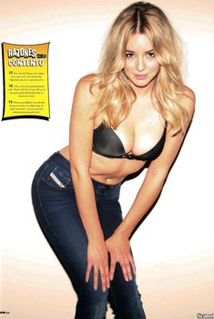 Заманчивая Кили Хэзелл сексуально позирует в журнале FHM, Март 2014
