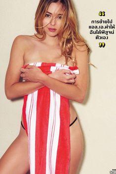 Обворожительная Кили Хэзелл в сексуальном бикини для журнала FHM, Март 2014