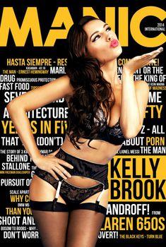 Келли Брук в сексуальном белье для журнала Manic, Июнь 2014