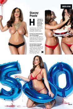 Обнаженная Stacey Poole в журнале Nuts, Октябрь 2013