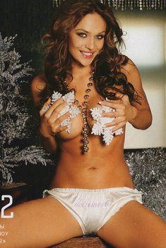Алена Водонаева в эротической фотосессии для Playboy, 2006