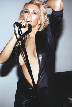 Алена Свиридова разделась в журнале Playboy, 2008