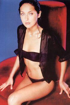 Алсу в черном белье для журнала «Максим», 2002