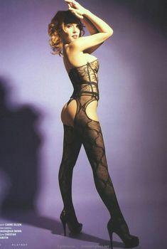 Секси Альбина Джанабаева в журнале Playboy, 2008
