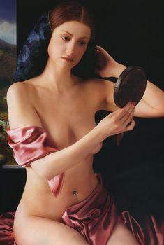 Обнаженная Анна Ковальчук в журнале «Караван историй», 2005