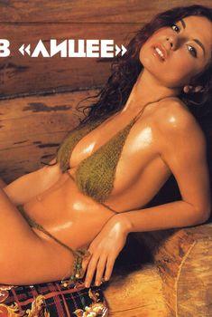 Секси Анна Плетнёва в журнале Maxim, 2004