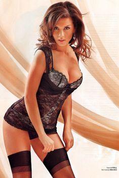 Анна Седокова в нижнем белье для журнала Playboy, 2006
