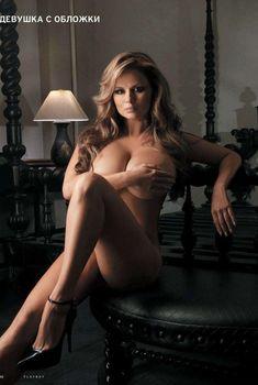 Анна Семенович обнажилась в журнале Playboy, 2012